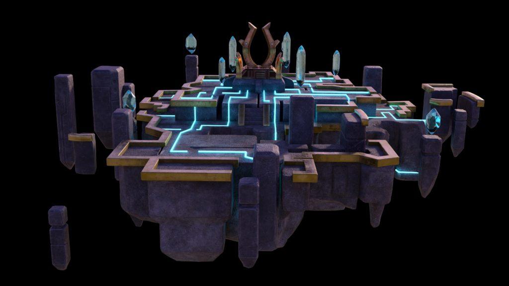 Das Dimensionsloch führt euch in ganz neue Winkel der Sky Arena.