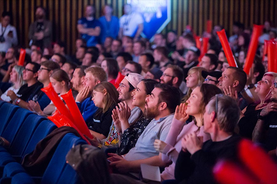 Fans aus ganz Europa kamen zum SWC Europa nach Berlin.