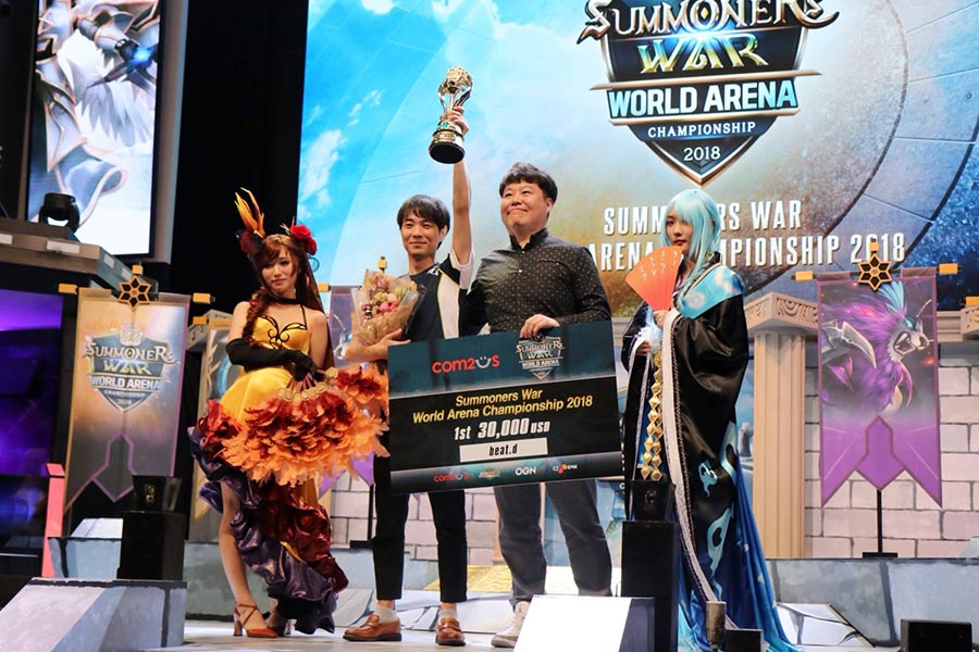 beat.d wird in Seoul zum Summoners War-Weltmeister gekürt.