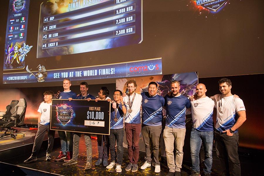 Im Überblick: Alle Teilnehmer der Summoners War-EM 2018